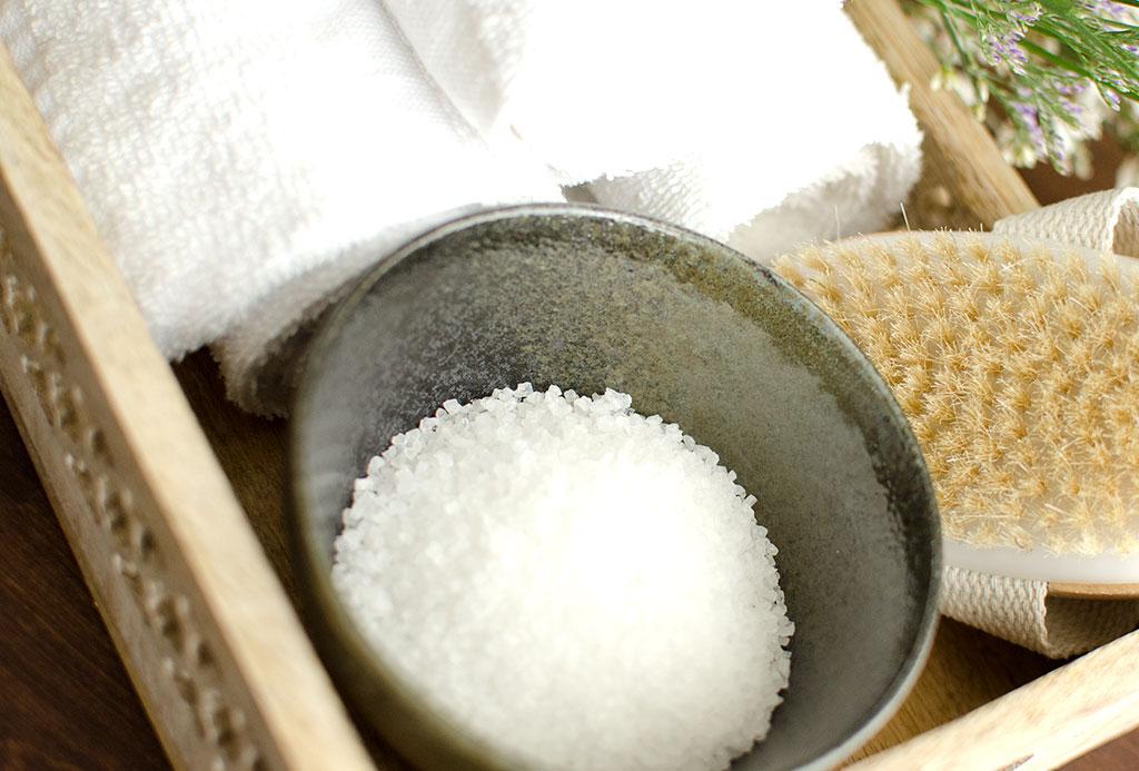 salt scrub - Home